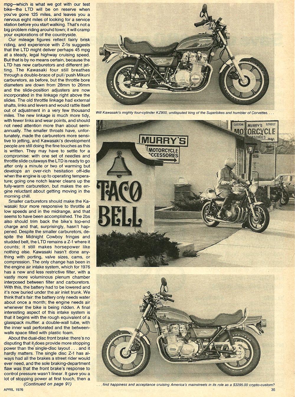 1976 Kawasaki KZ900 LTD road test 6.jpg