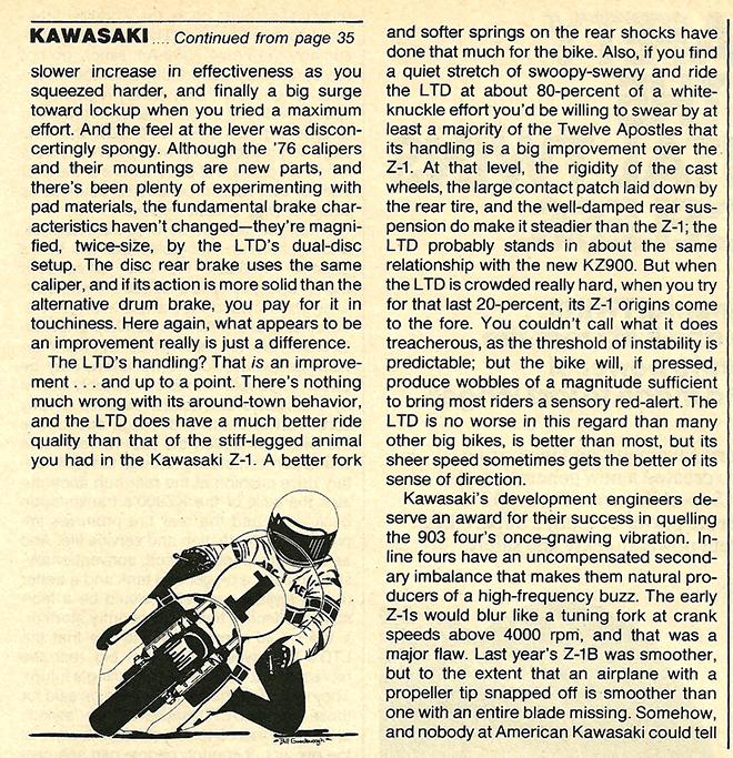 1976 Kawasaki KZ900 LTD road test 7.jpg