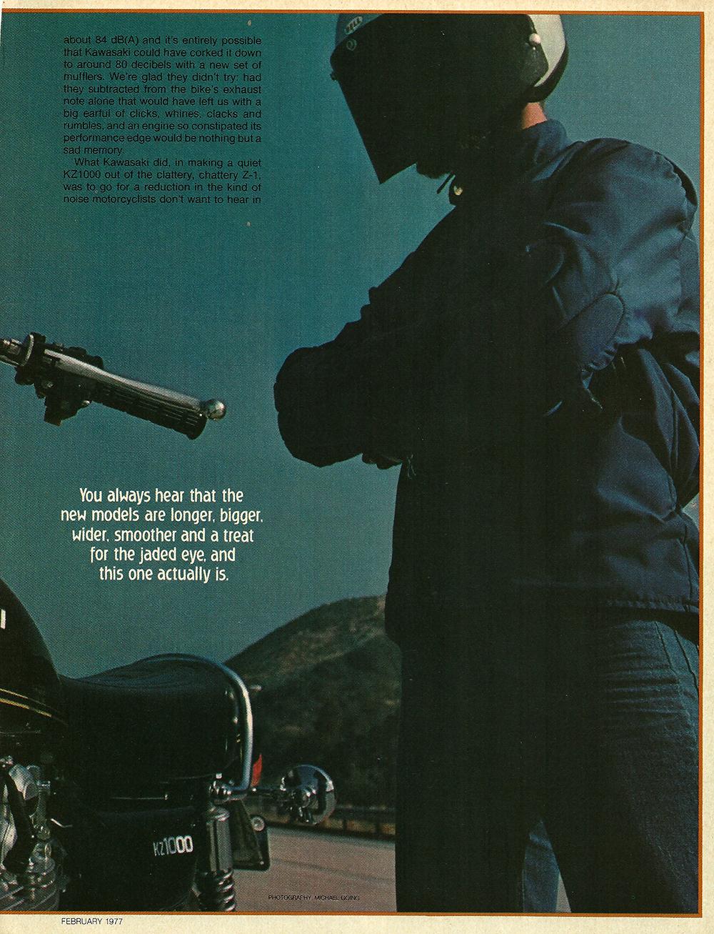 1977 Kawasaki KZ1000 road test 2.jpg