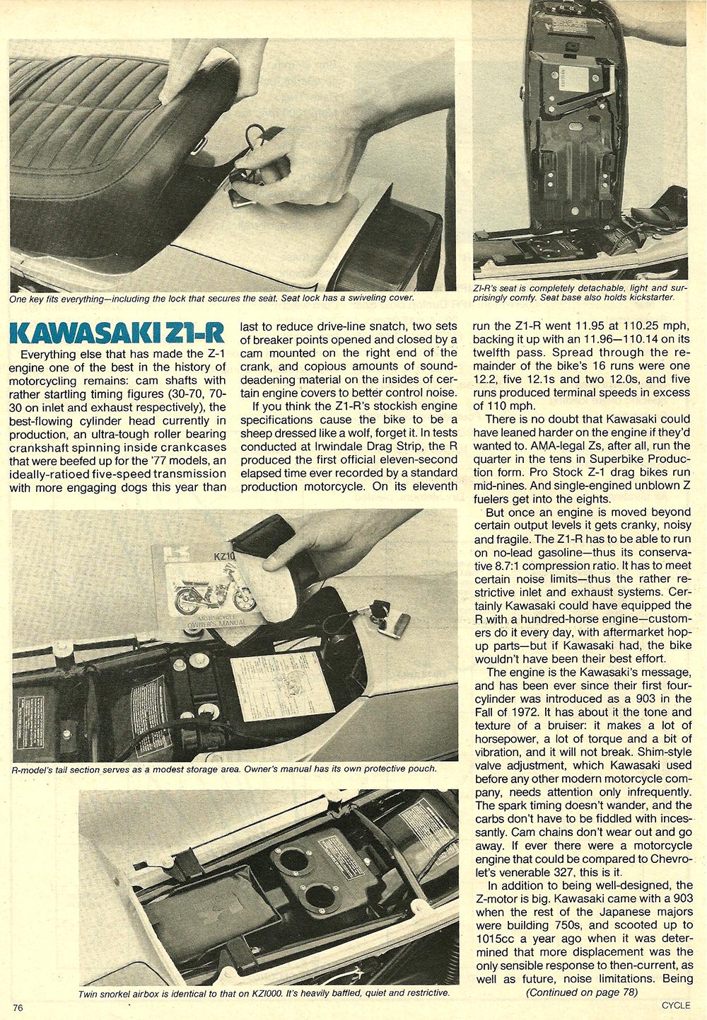 1977 Kawasaki Z1R road test 07.jpg