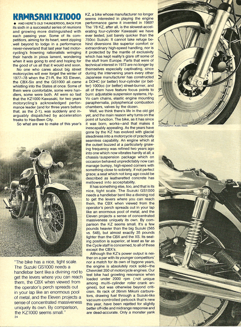 1978 Kawasaki KZ1000 road test 03.jpg