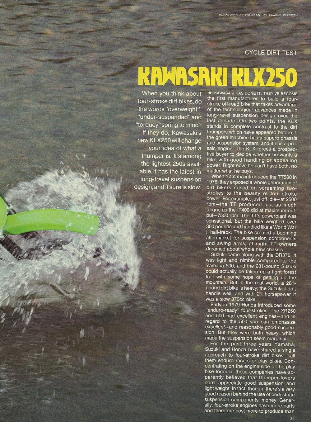 1979 Kawasaki KLX250 off road test 1.jpg