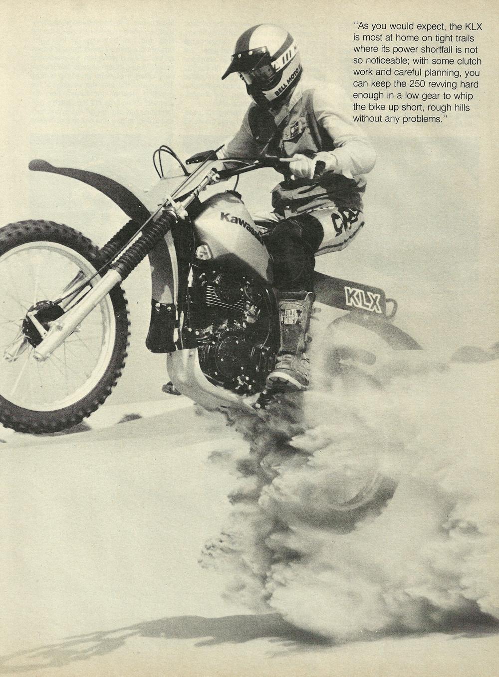 1979 Kawasaki KLX250 off road test 6.jpg