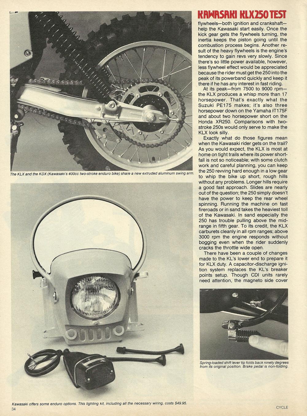 1979 Kawasaki KLX250 off road test 5.jpg