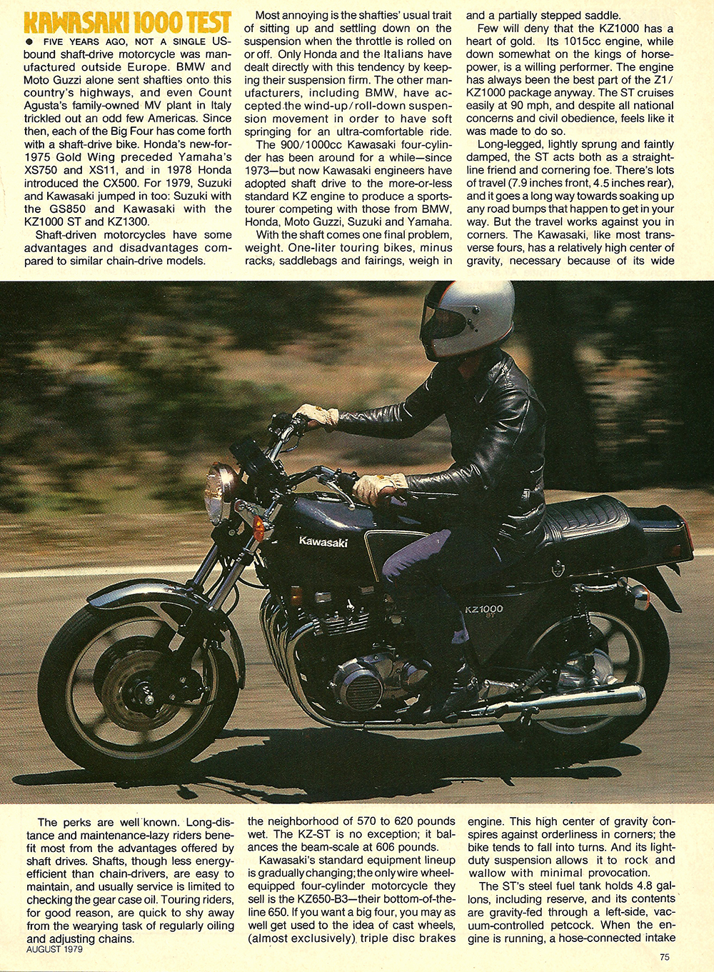 1979 Kawasaki KZ1000 ST road test 04.jpg