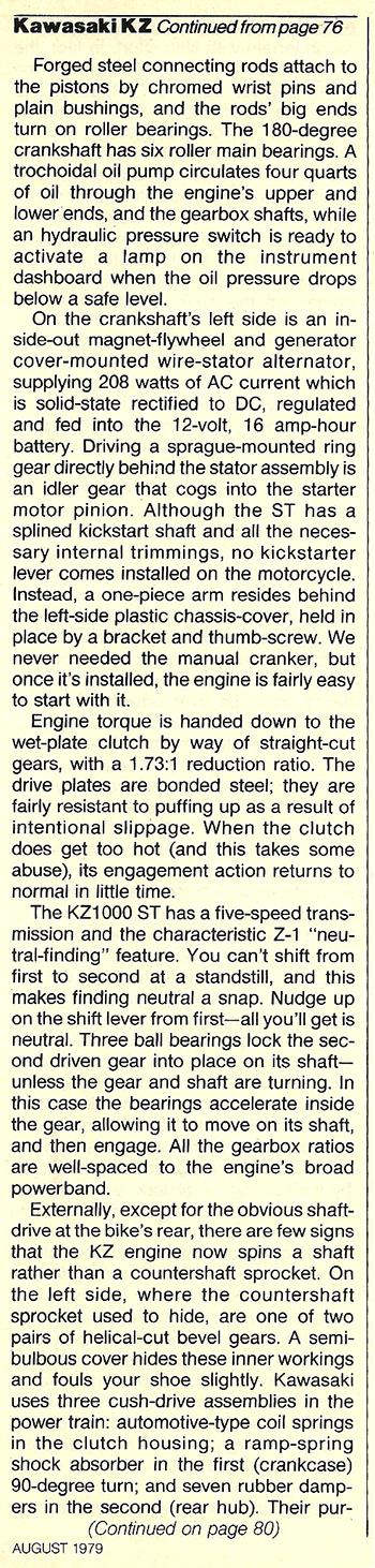 1979 Kawasaki KZ1000 ST road test 06.jpg