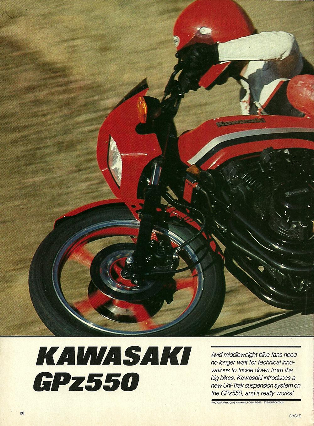 1982 Kawasaki GPz550 road test 01.jpg
