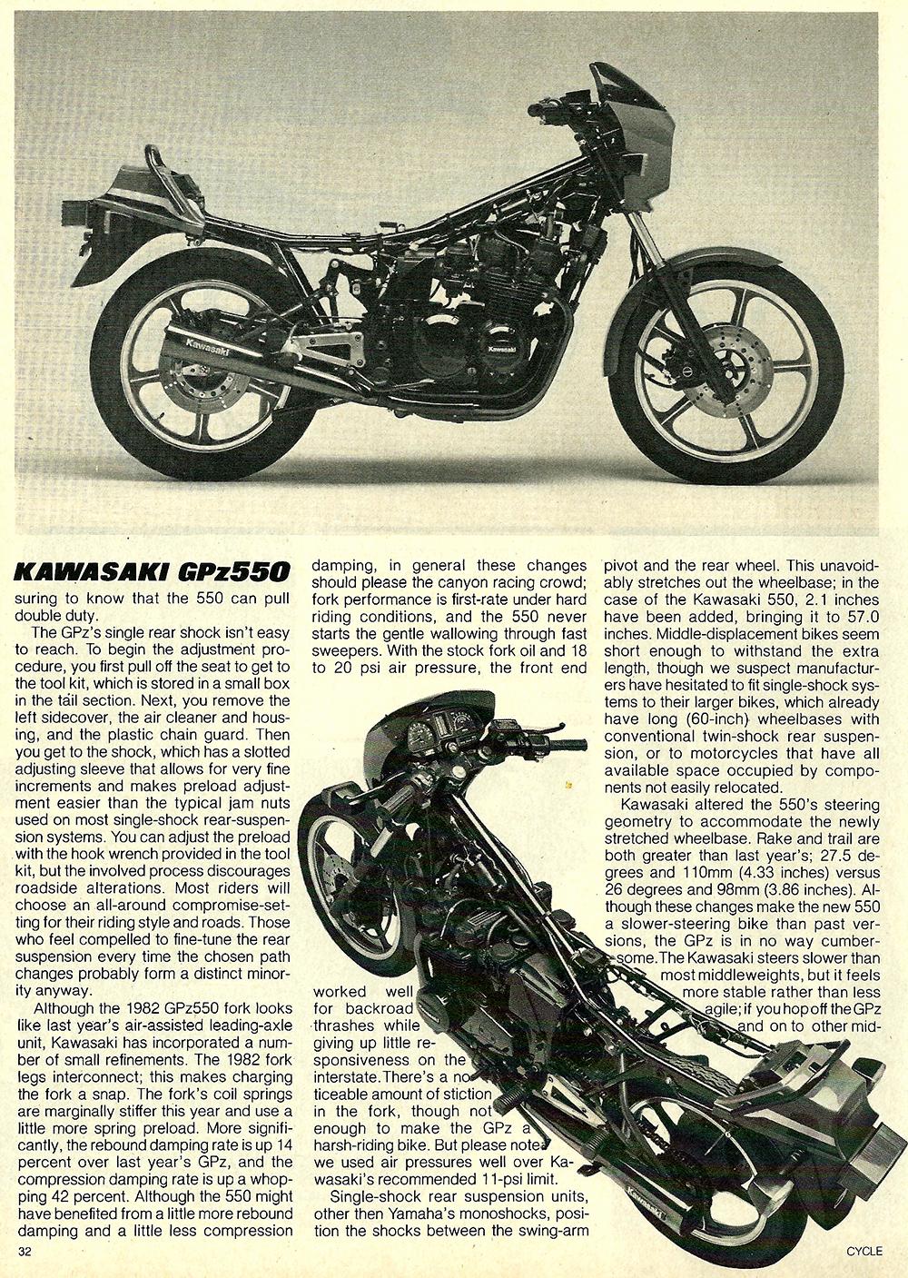 1982 Kawasaki GPz550 road test 05.jpg