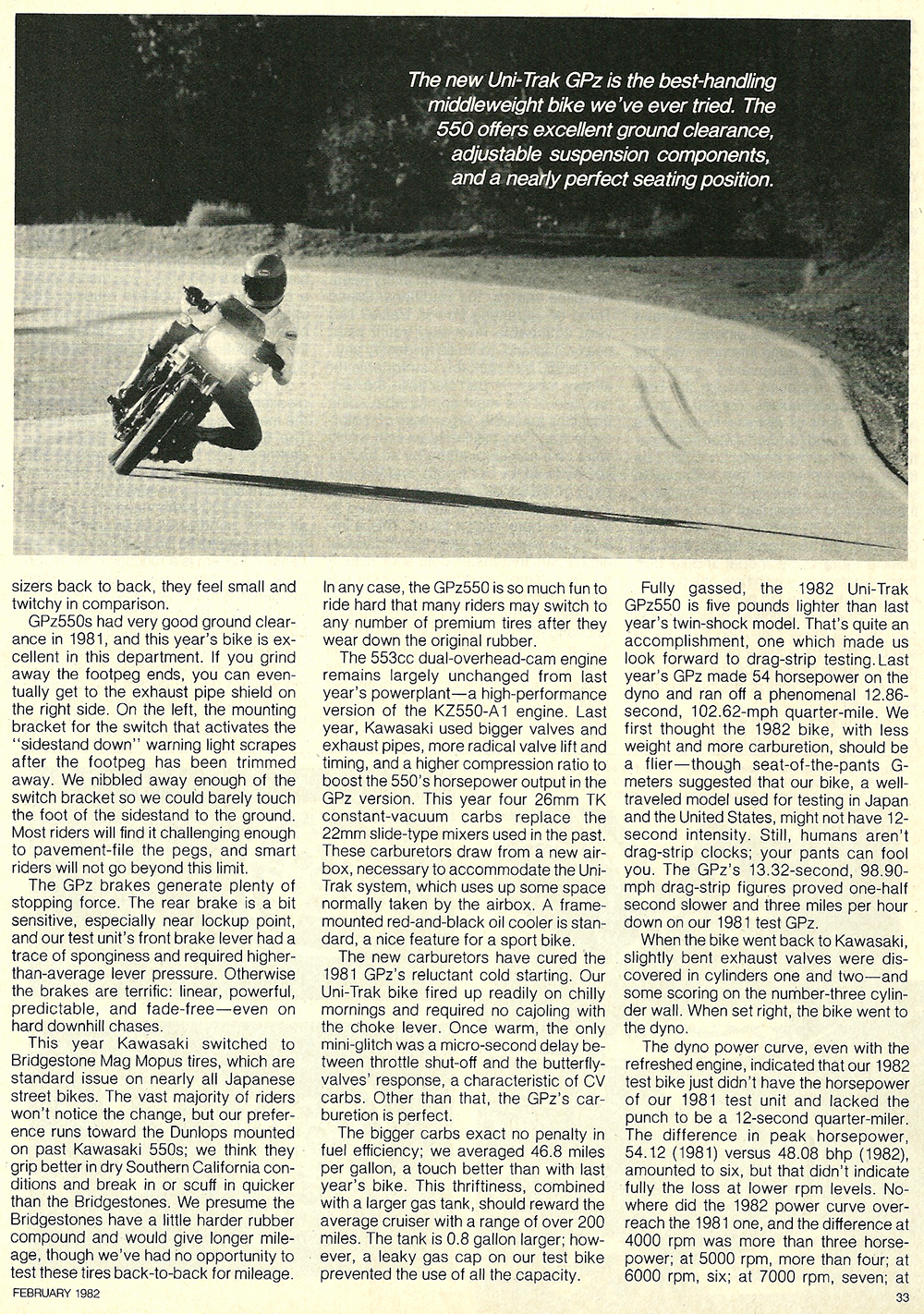 1982 Kawasaki GPz550 road test 06.jpg