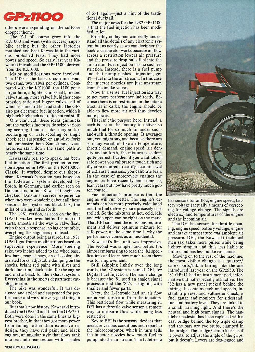 1982 Kawasaki GPz1100 road test 02.jpg