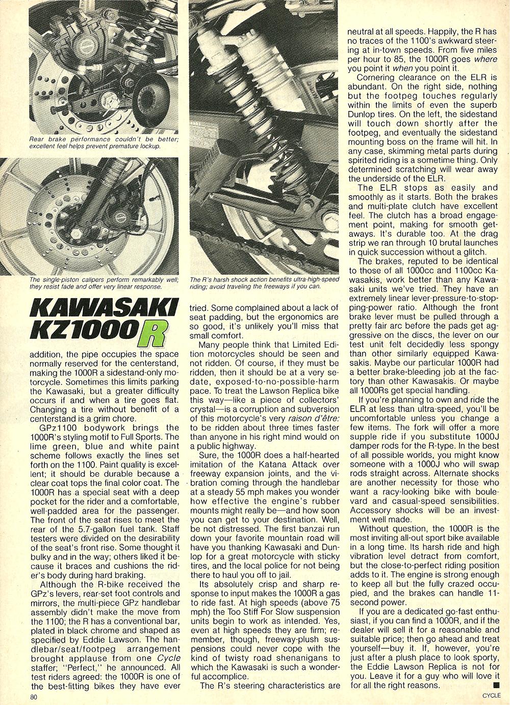 1982 Kawasaki KZ1000R road test 5.jpg