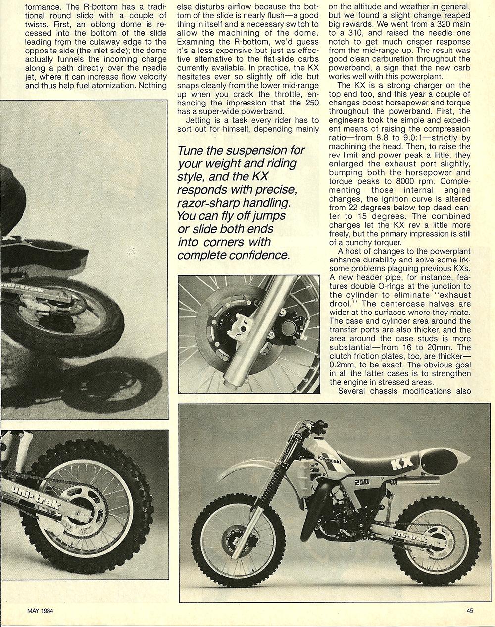 1984 Kawasaki KX250 road test 4.jpg