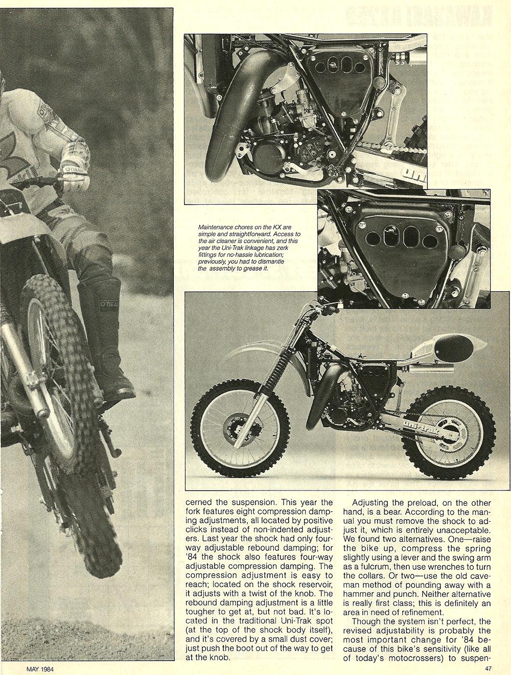 1984 Kawasaki KX250 road test 6.jpg