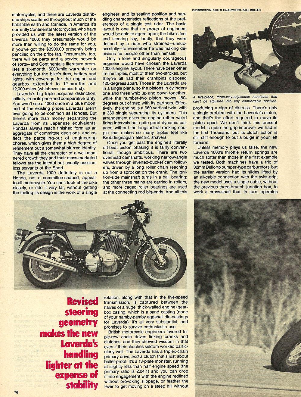 1976 Laverda 1000 road test 2.JPG