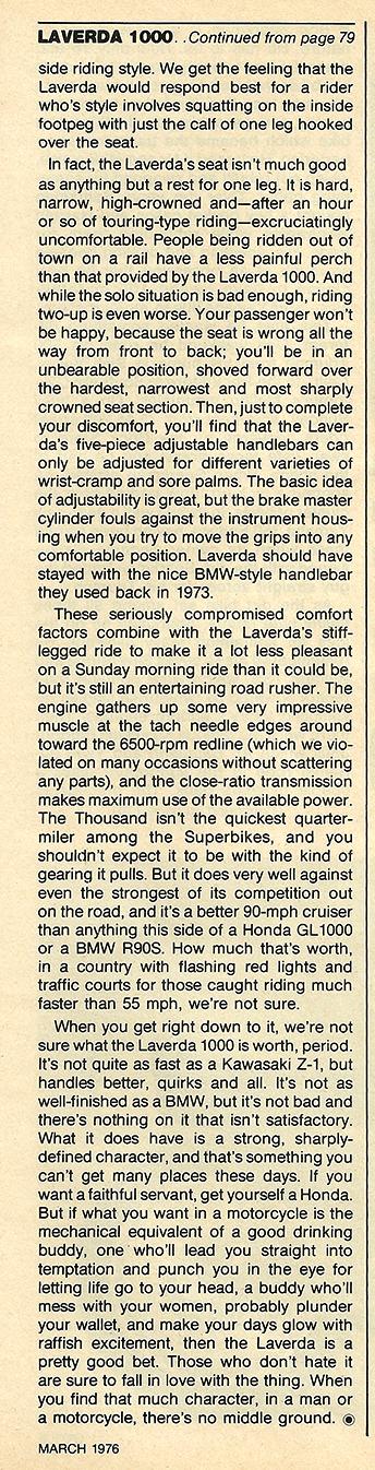 1976 Laverda 1000 road test 6.JPG