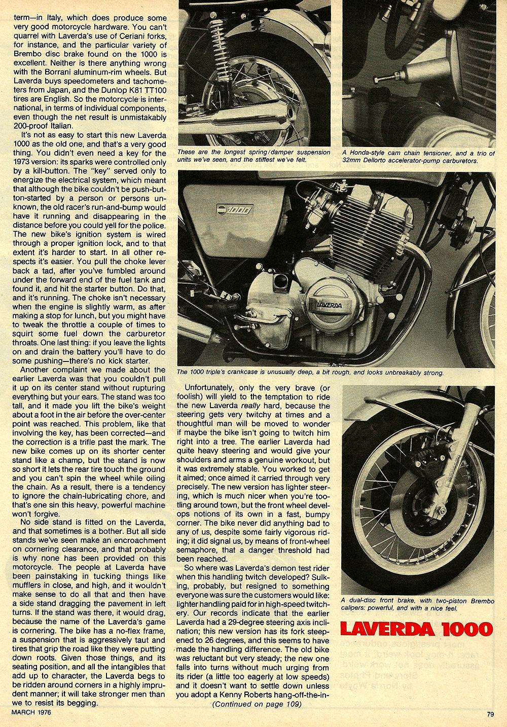 1976 Laverda 1000 road test 5.JPG