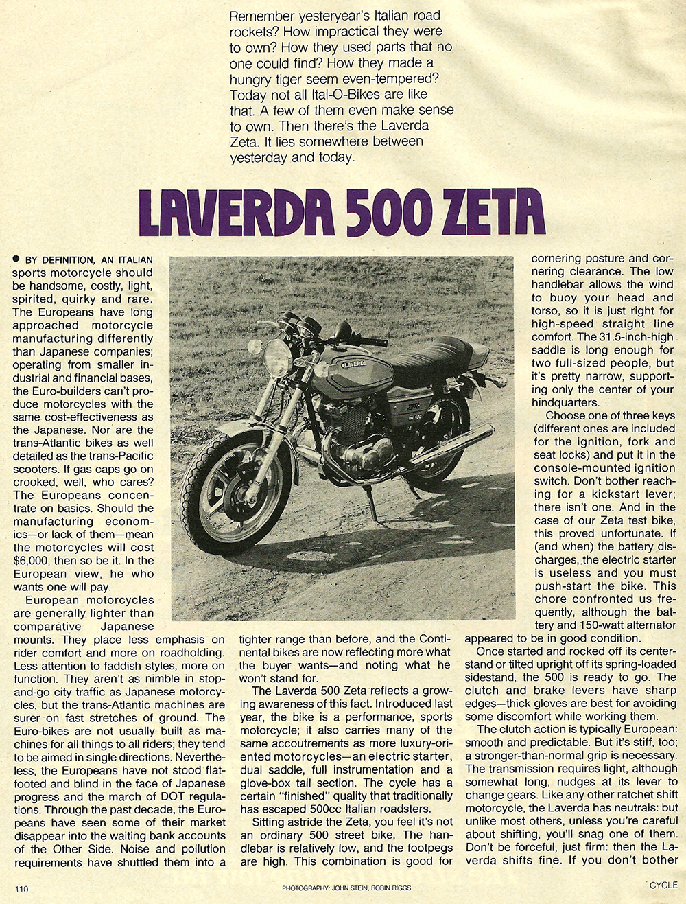 1979 Laverda 500 Zeta road test 1.jpg