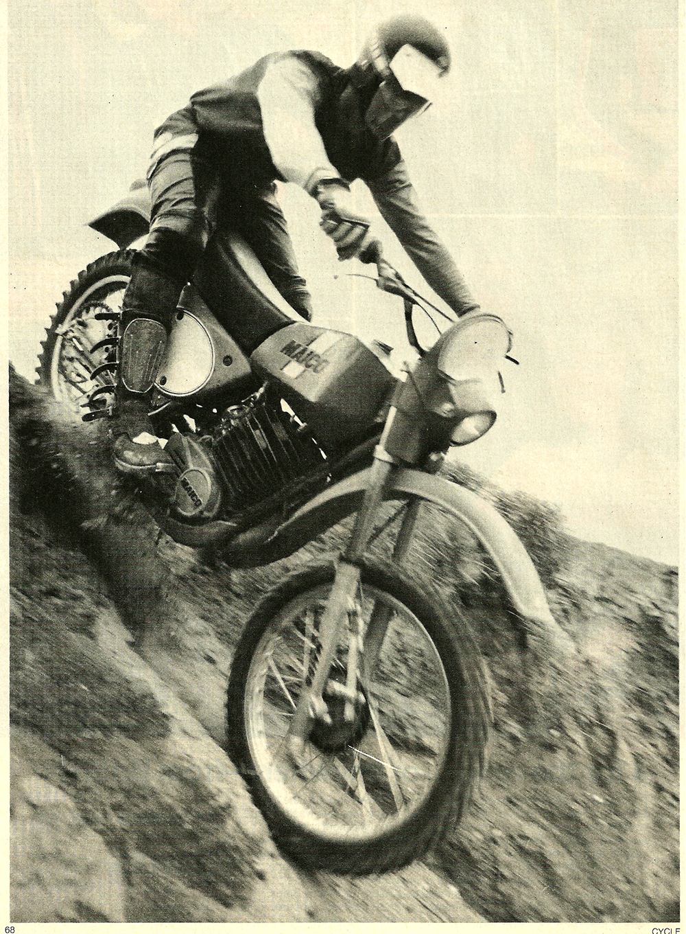 1977 Maico WR450 Cross Country XC road test 1.jpg