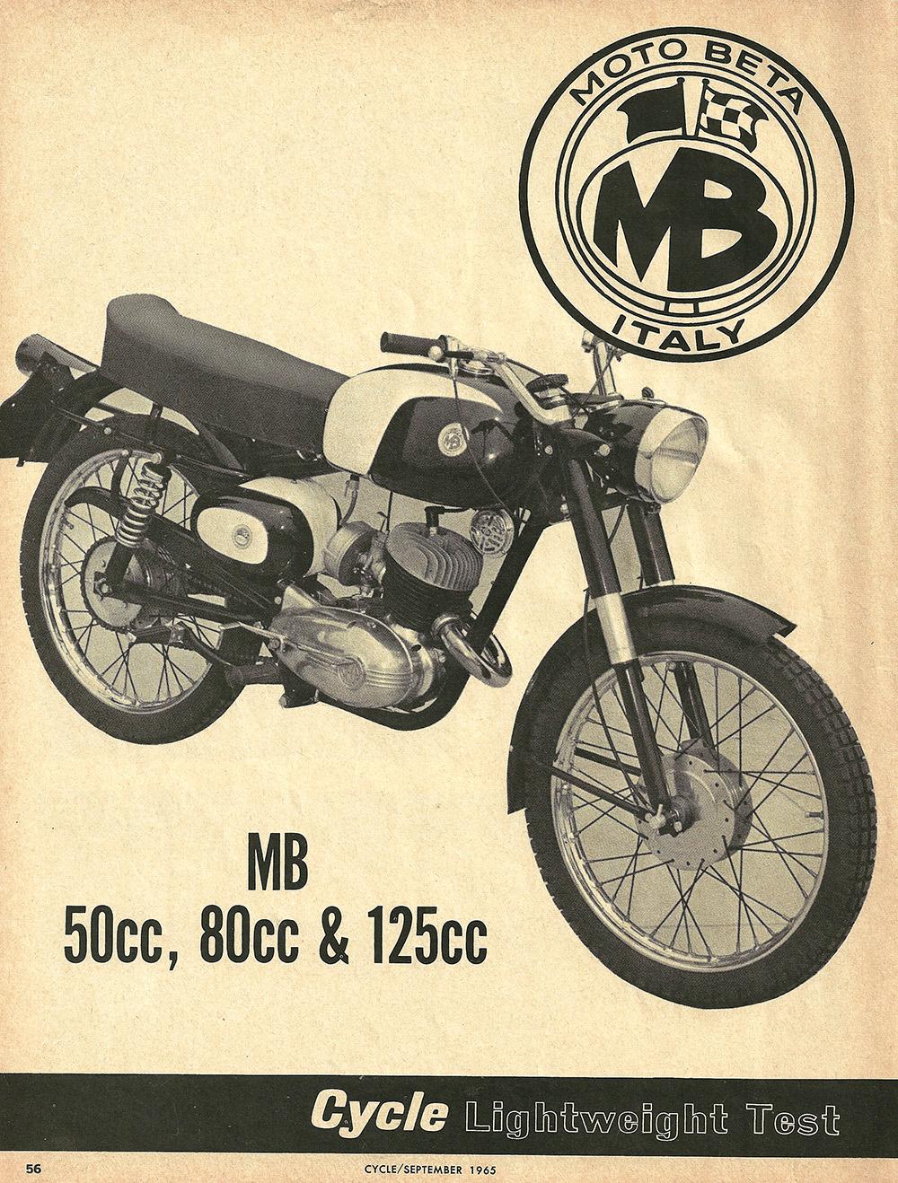 1966 Moto Beta 50cc 80cc 125cc road test 1.JPG