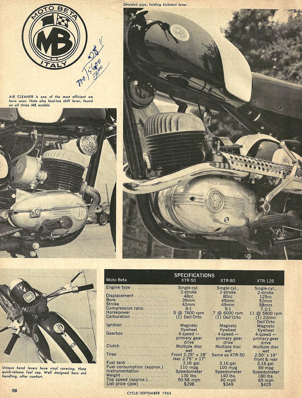 1966 Moto Beta 50cc 80cc 125cc road test 3.JPG