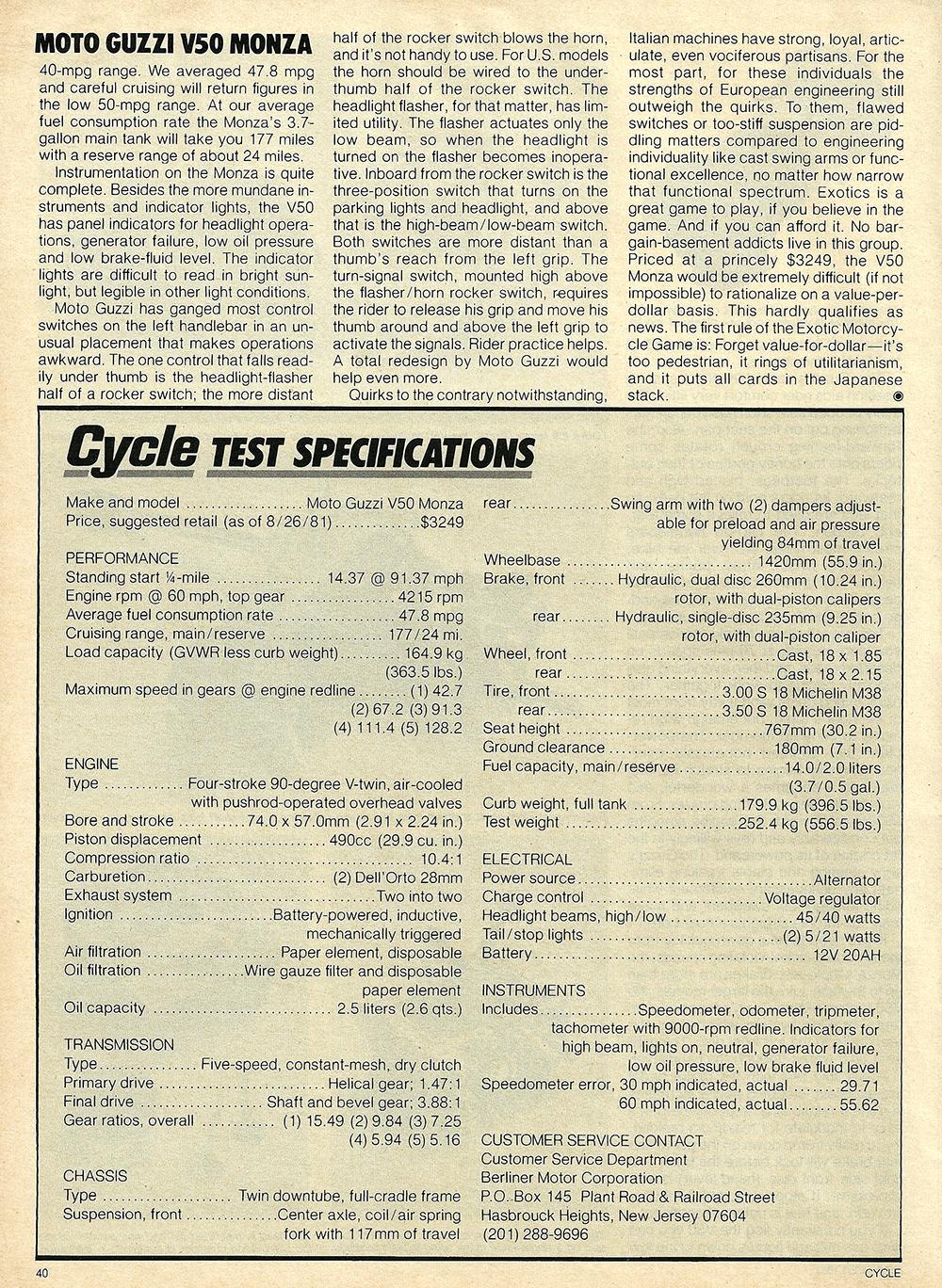1981 Moto Guzzi V50 Monza road test 09.jpg