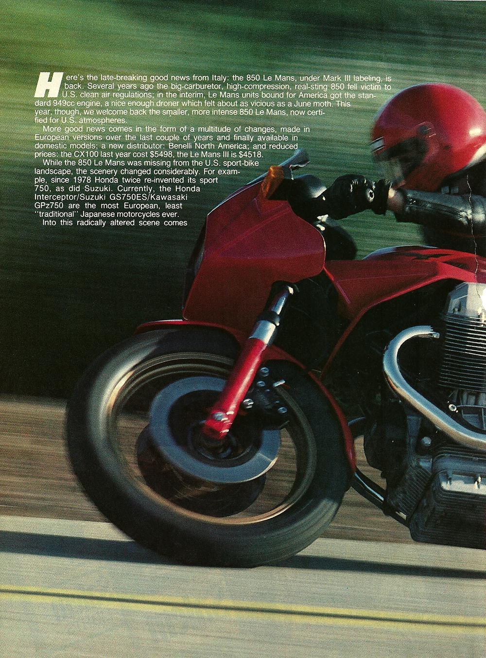 1983 Moto Guzzi 850 Lemans 3 road test 1.jpg