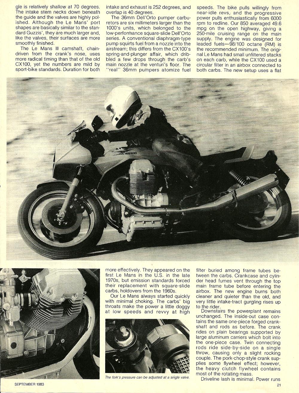 1983 Moto Guzzi 850 Lemans 3 road test 4.jpg