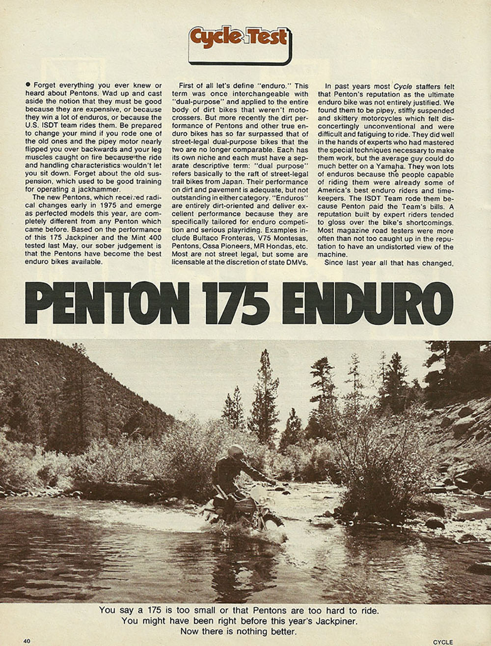 1976 Penton 175 Enduro off road test 1.JPG
