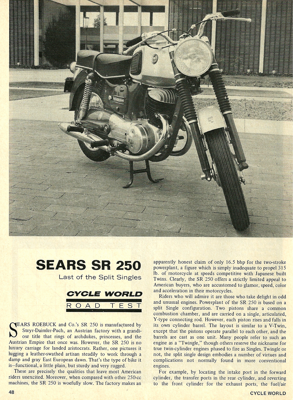 1968 Sears SR 250 road test 01.jpg