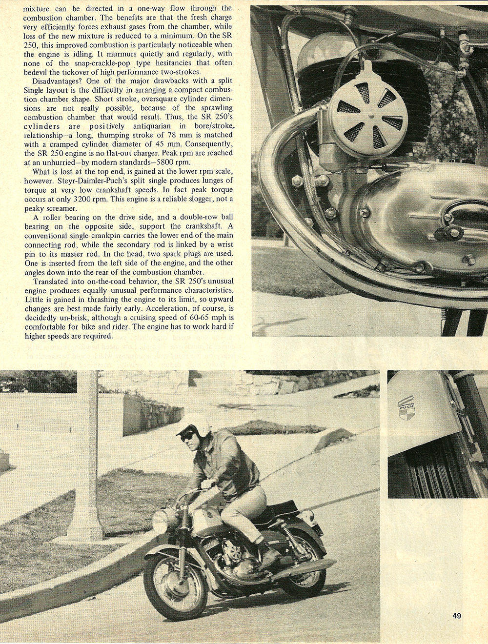 1968 Sears SR 250 road test 02.jpg