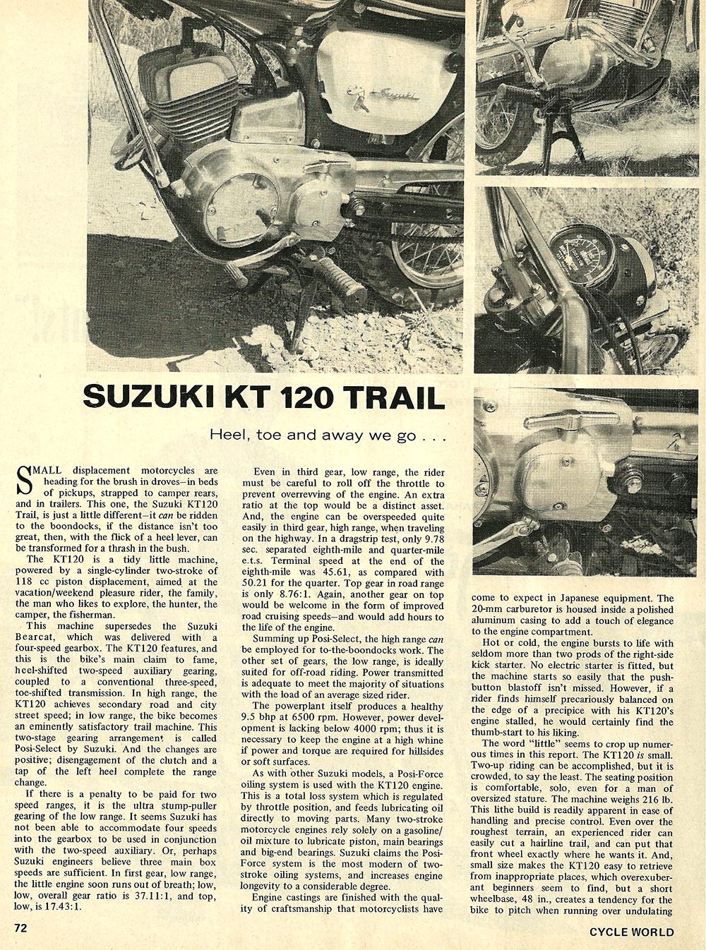 1968 Suzuki KT 120 Trail bike road test 01.jpg