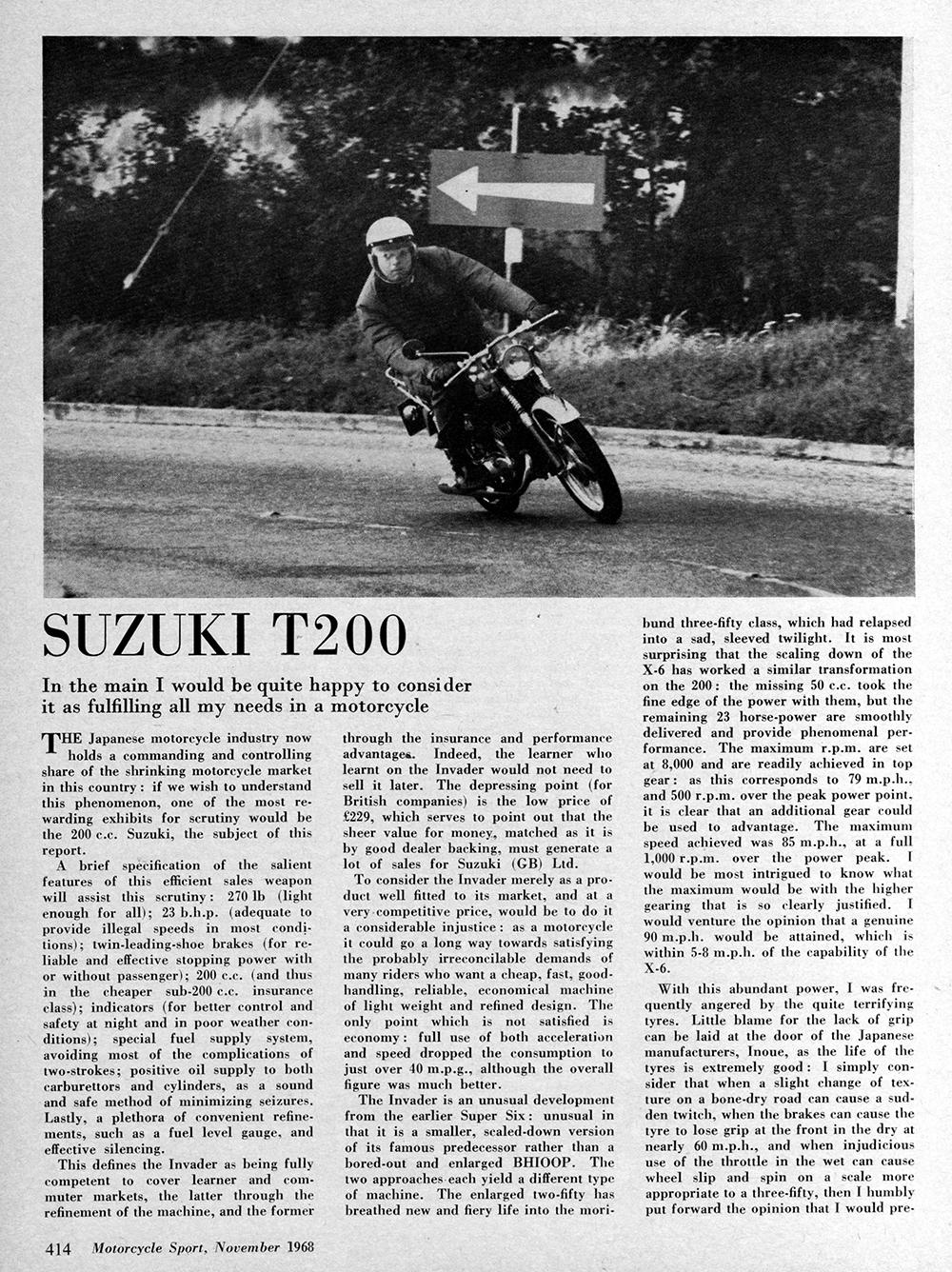 1969 Suzuki T200 road test 1.jpg