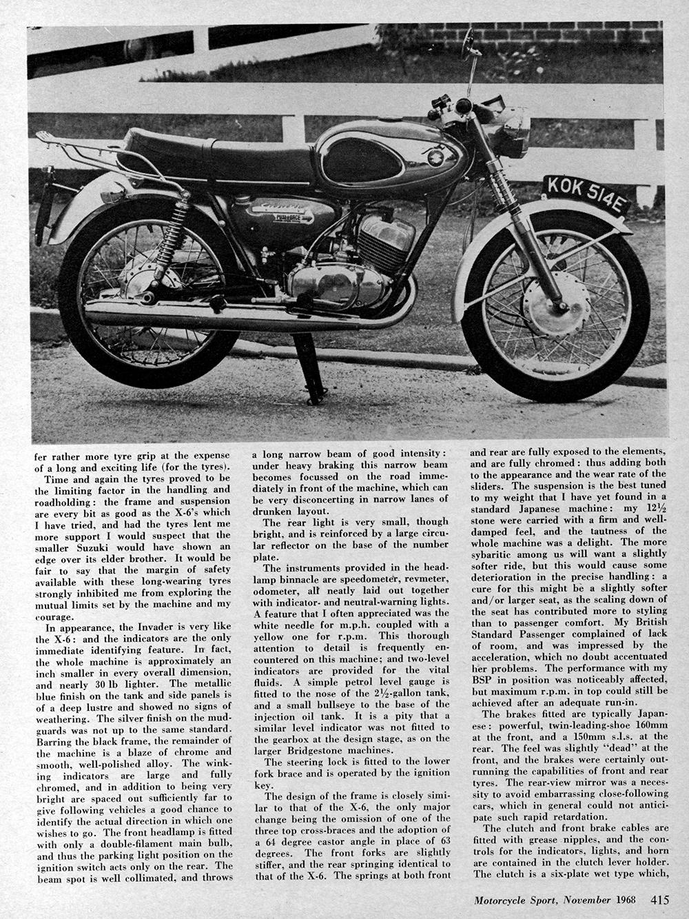 1969 Suzuki T200 road test 2.jpg