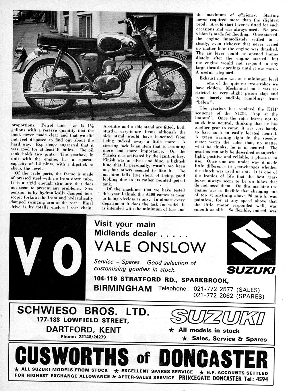 1970 Suzuki A100 road test 2.jpg