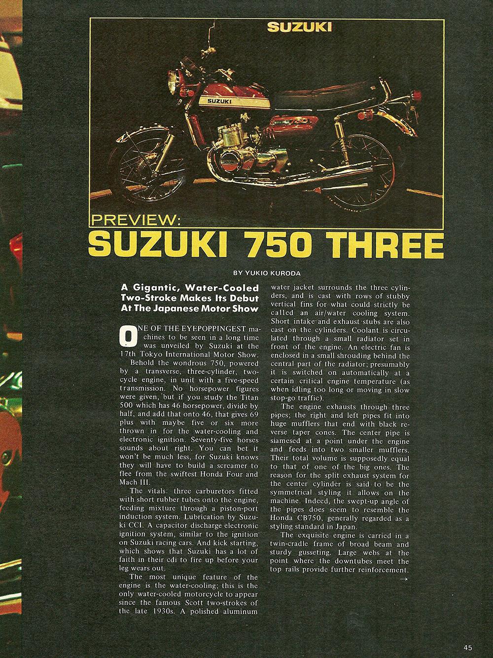 1971 Suzuki GT750 road test 02.jpg
