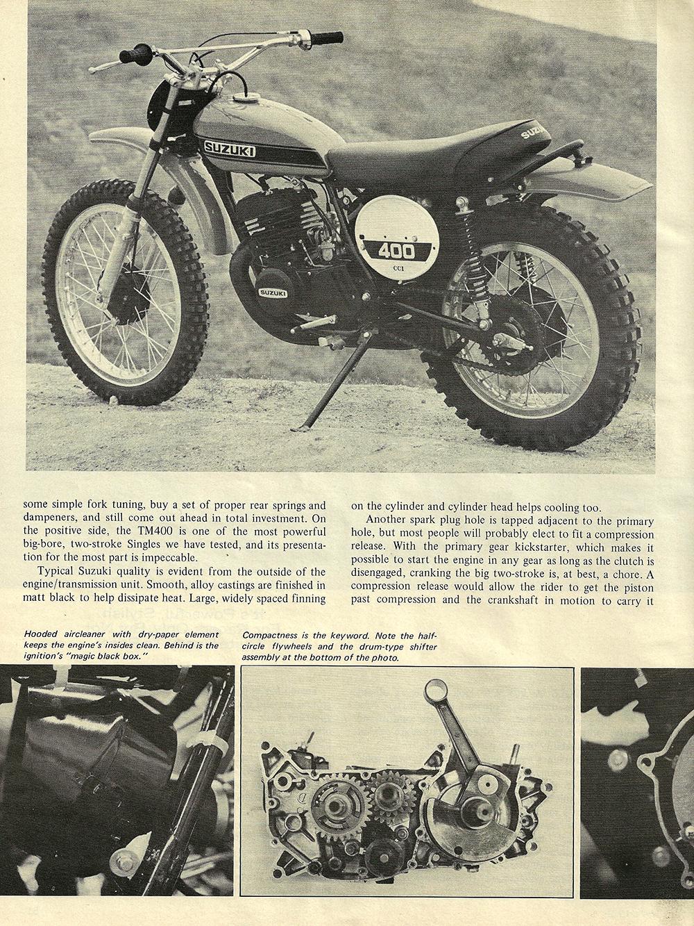 1971 Suzuki TM400R road test 02.jpg