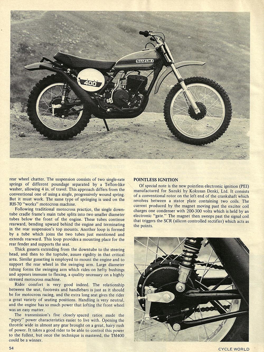 1971 Suzuki TM400R road test 04.jpg
