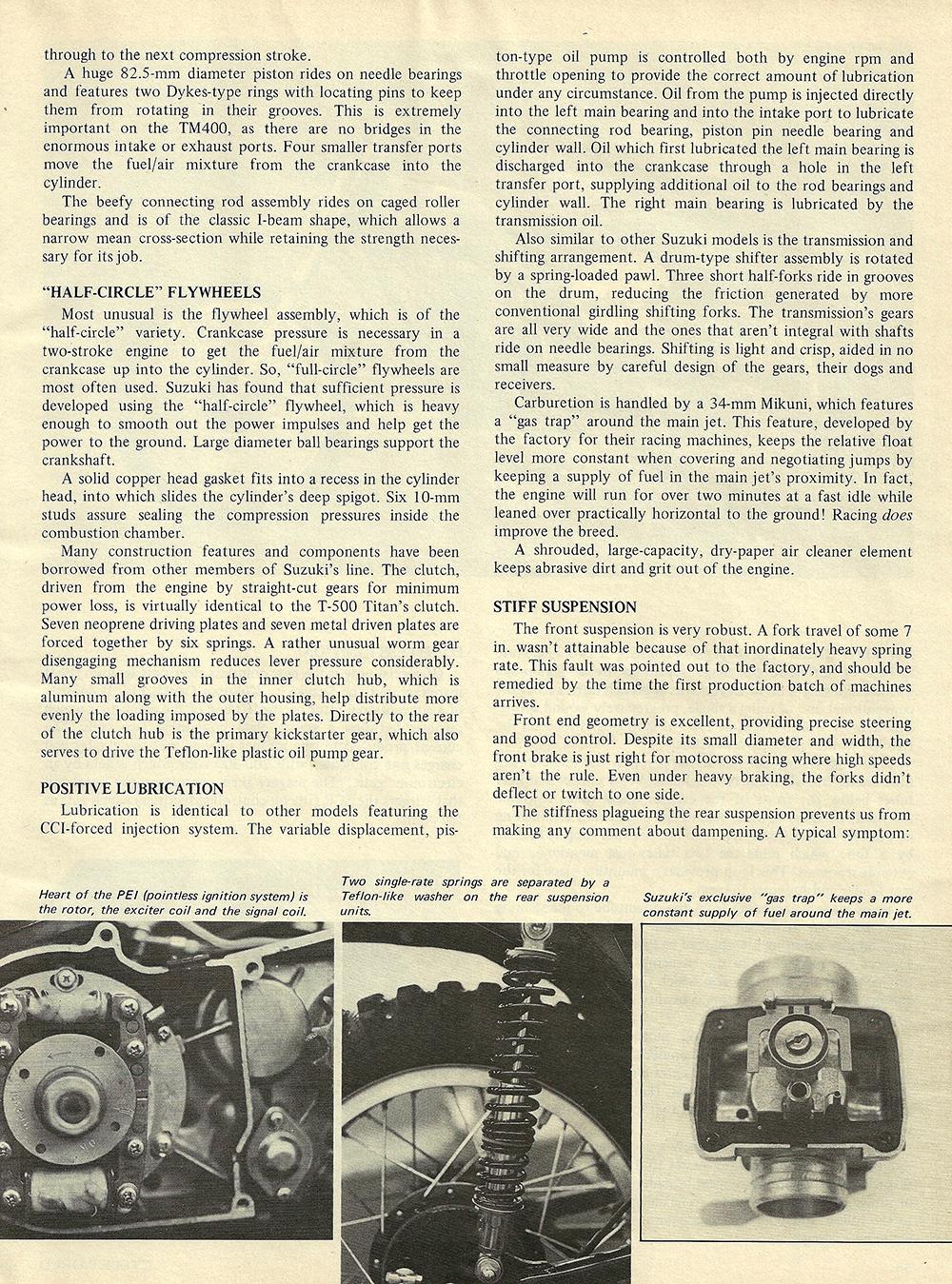 1971 Suzuki TM400R road test 03.jpg