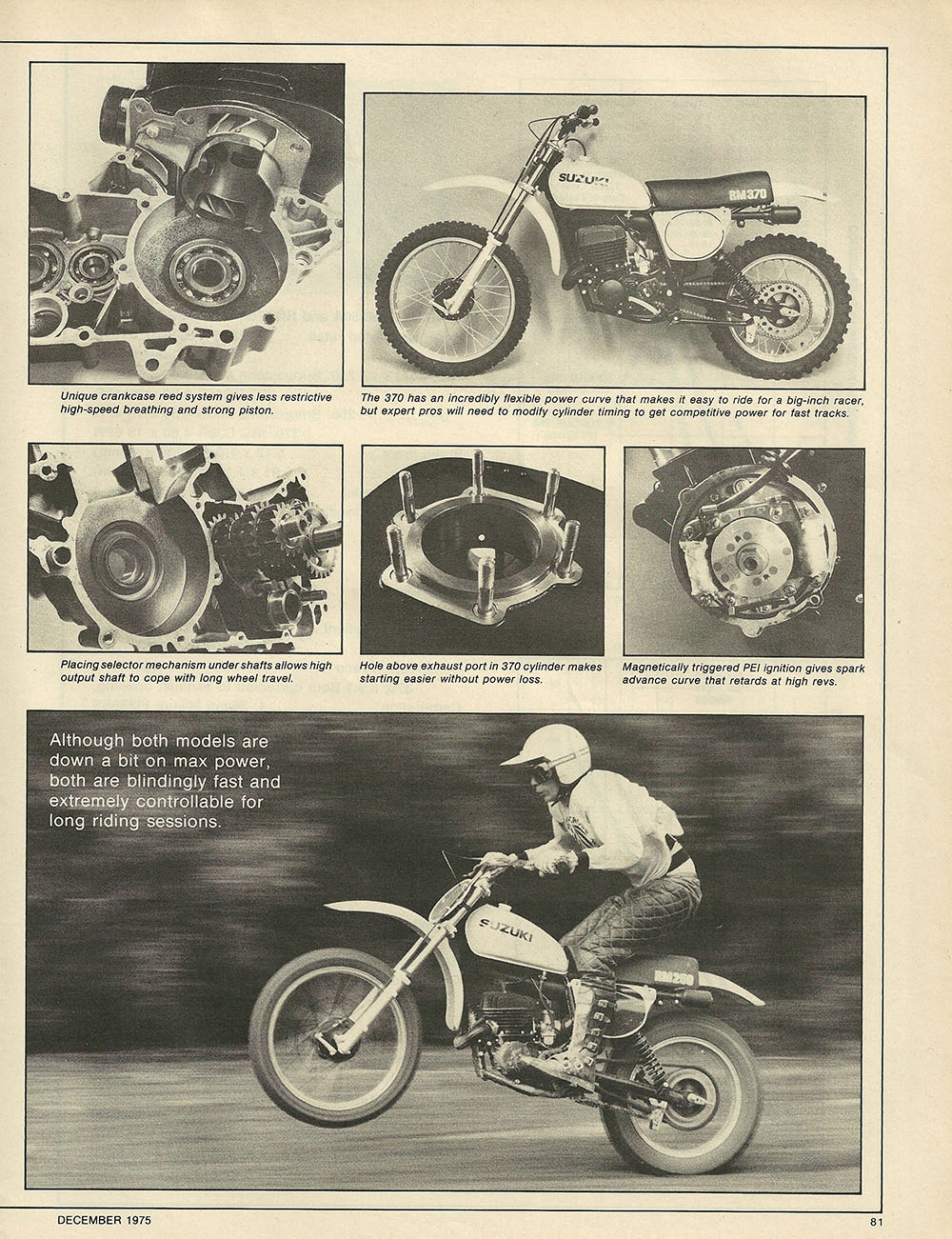 1975 Suzuki RM250 and RM370 off road test 5.JPG