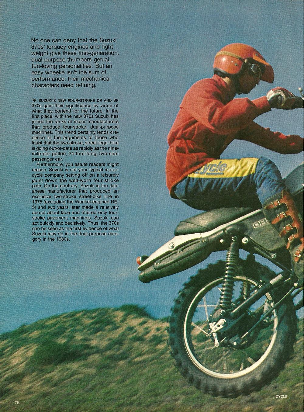 1978 Suzuki DR SP 370 road test 01.jpg