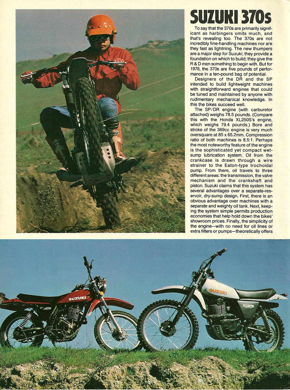 1978 Suzuki DR SP 370 road test 03.jpg