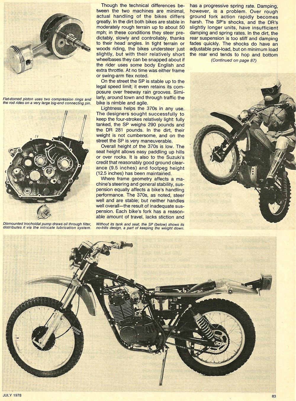 1978 Suzuki DR SP 370 road test 06.jpg
