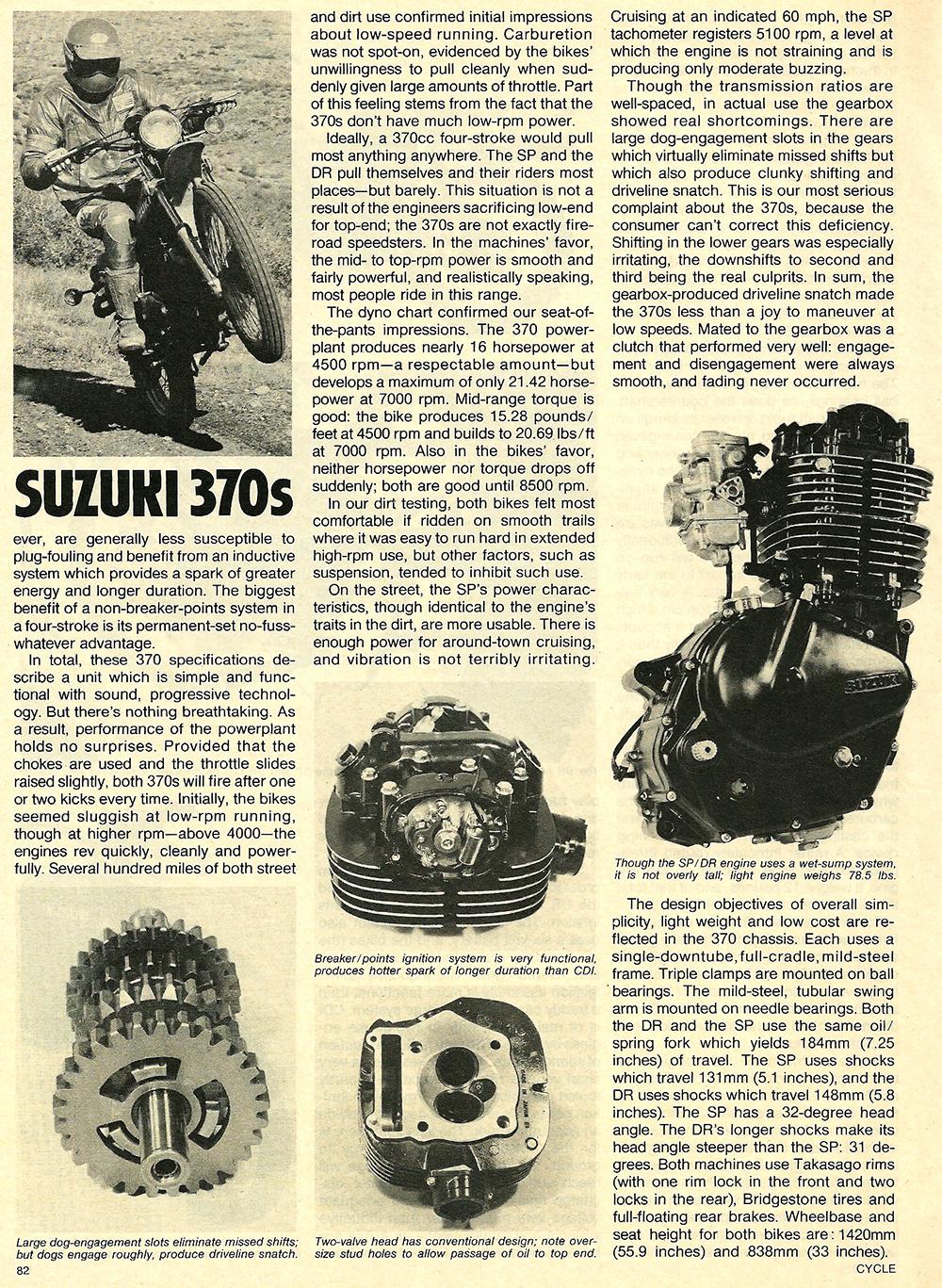 1978 Suzuki DR SP 370 road test 05.jpg