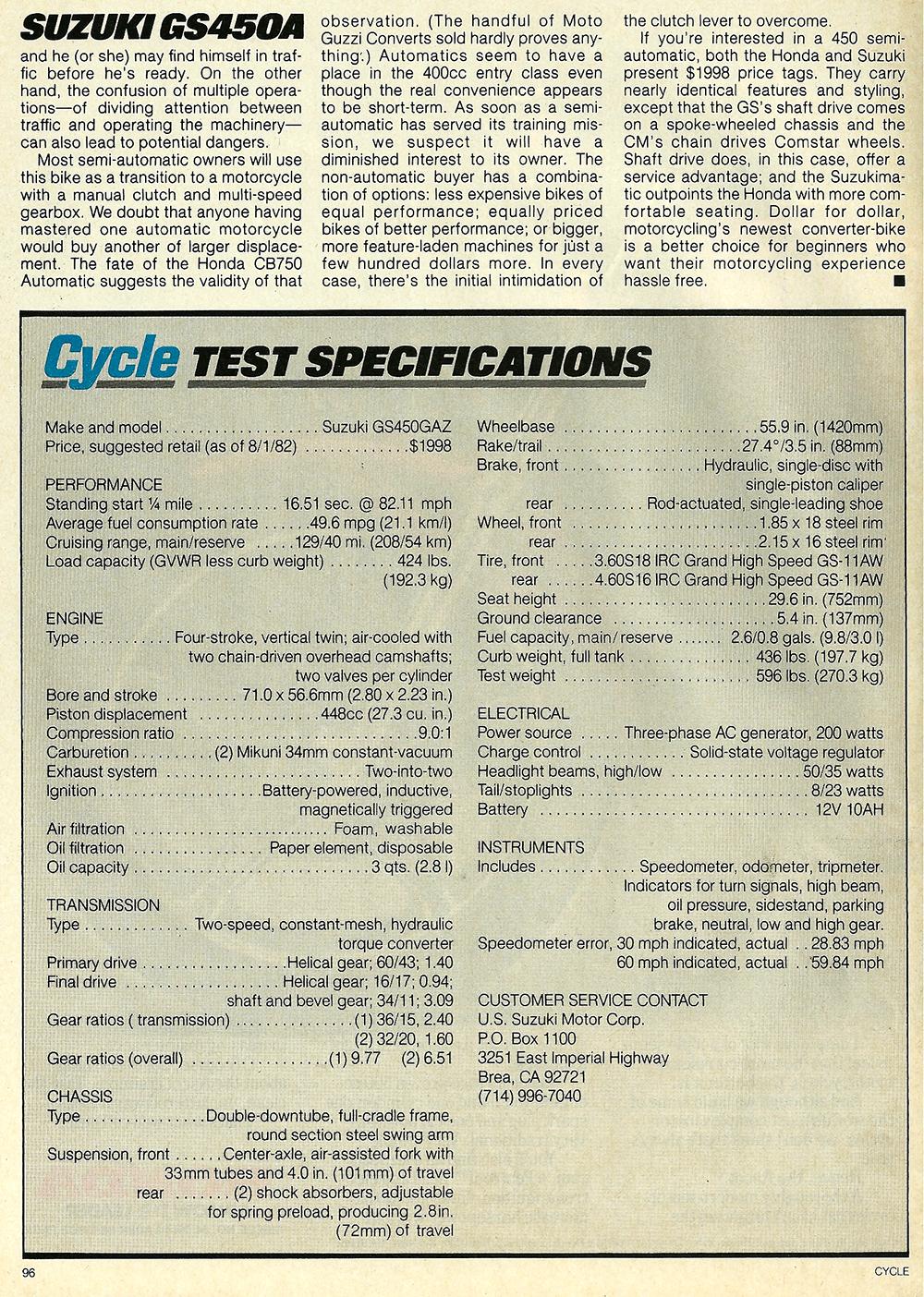 1982 Suzuki GS450A road test 4.jpg