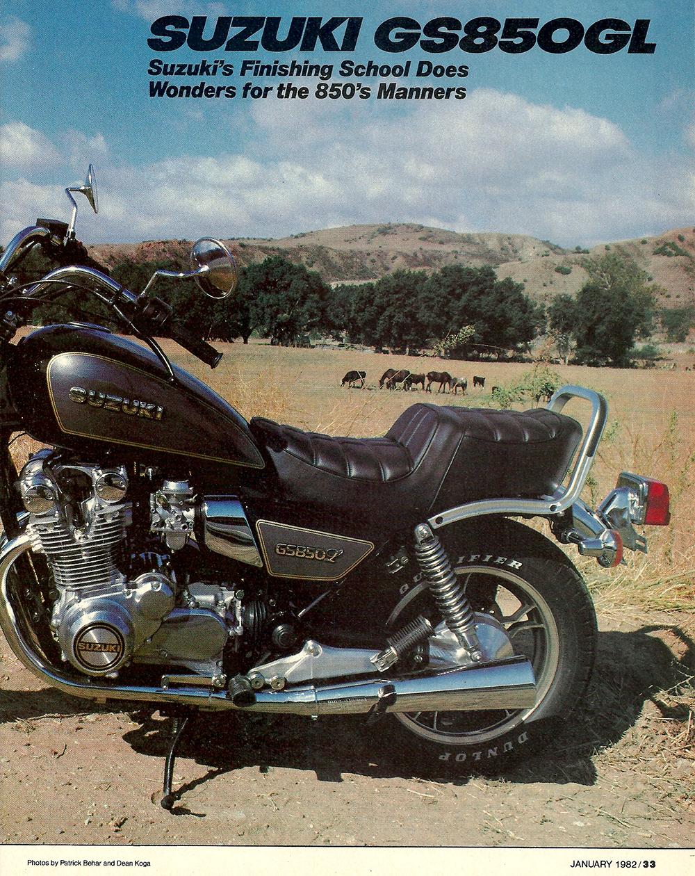1982 Suzuki GS850GL road test 02.jpg