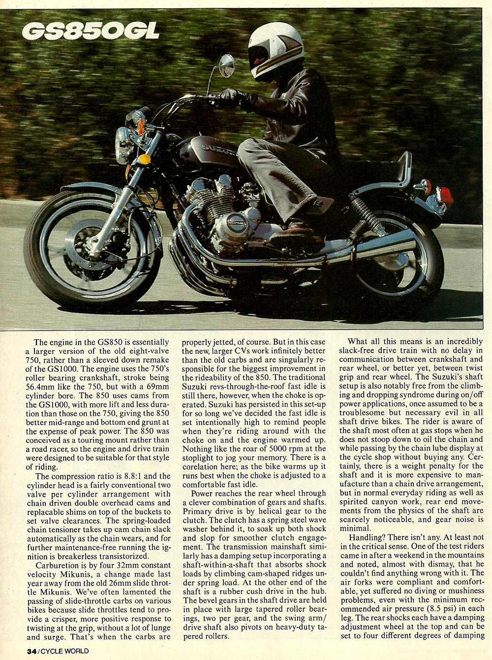 1982 Suzuki GS850GL road test 03.jpg