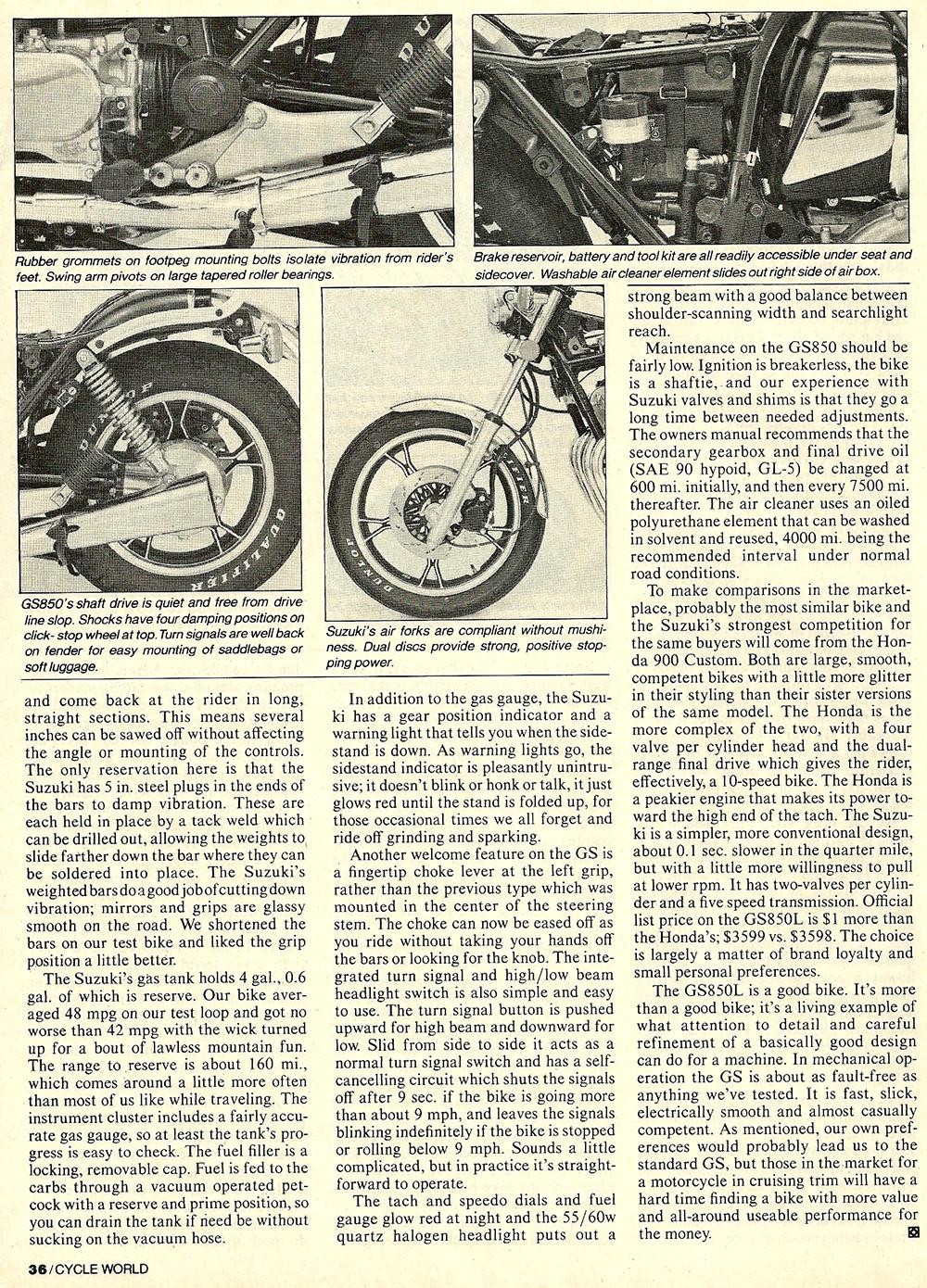 1982 Suzuki GS850GL road test 05.jpg