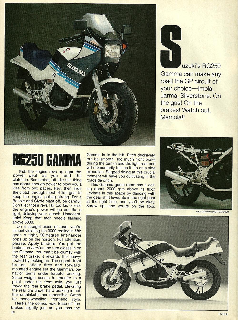 1984 Suzuki RG250 Gamma road test 3.jpg