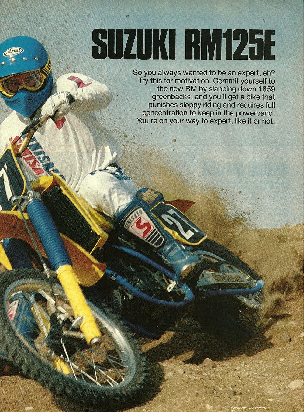 1984 Suzuki RM125E road test 2.jpg