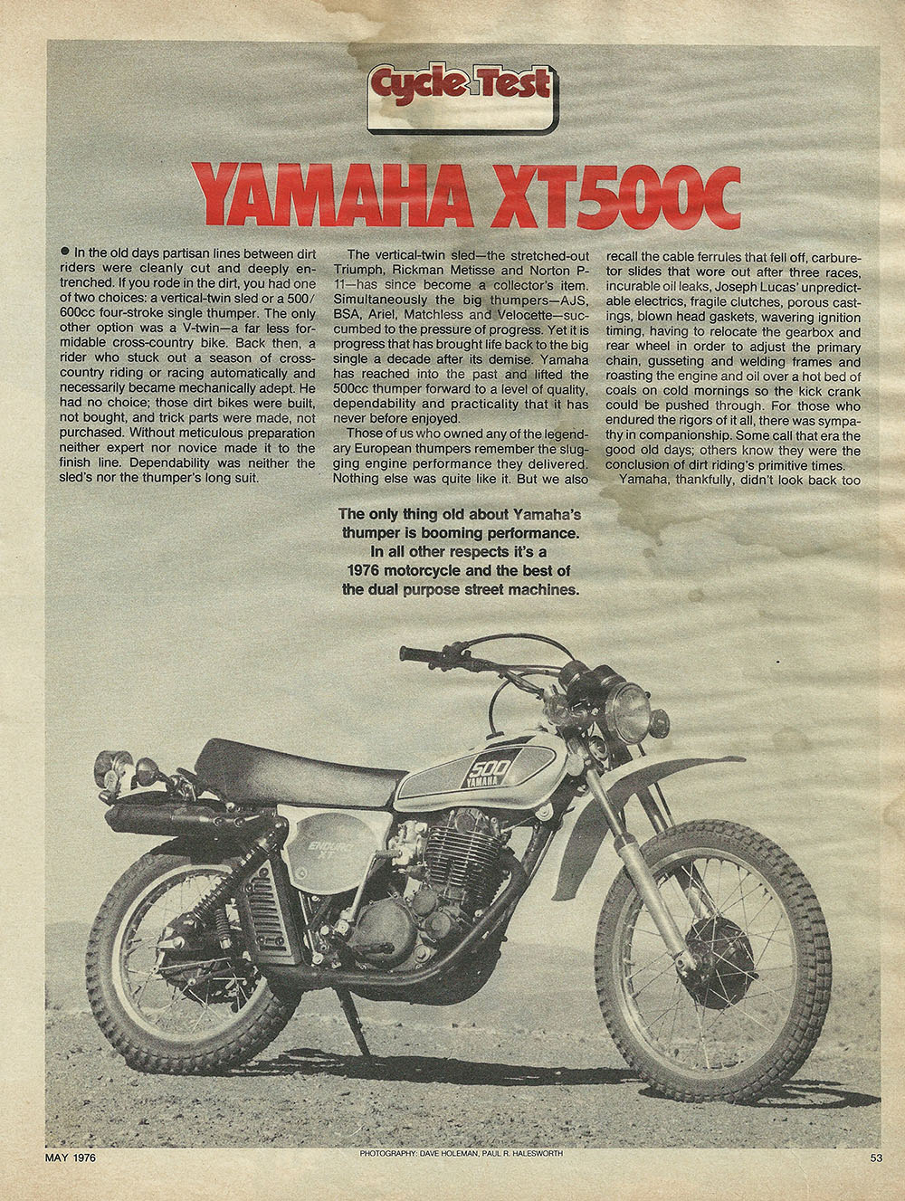 1976 Yamaha XT500C off road test 1.JPG